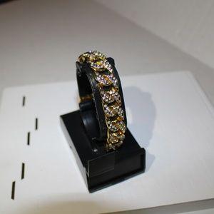 BUST DOWN 14k Gold Electroplated Bracelet